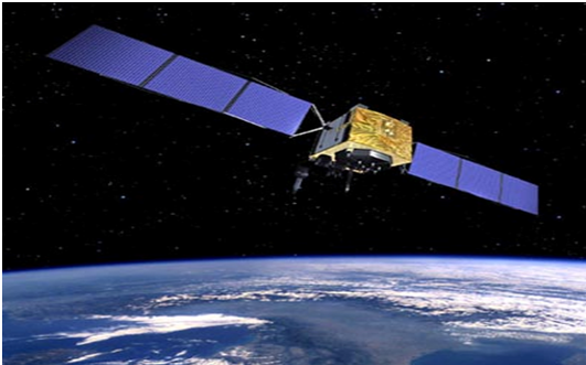 How does a satellite get into orbit?
